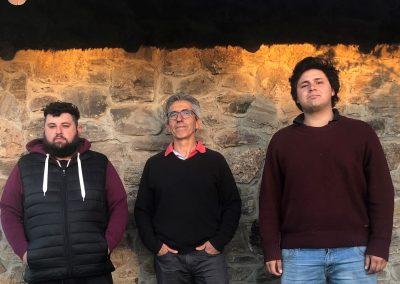 Sergio Aguirre con Finas Hierbas